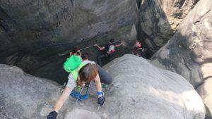 Stiegen-Abenteuertour (Einsteiger) @ Wanderparkplatz Nasser Grund | Bad Schandau | Sachsen | Deutschland