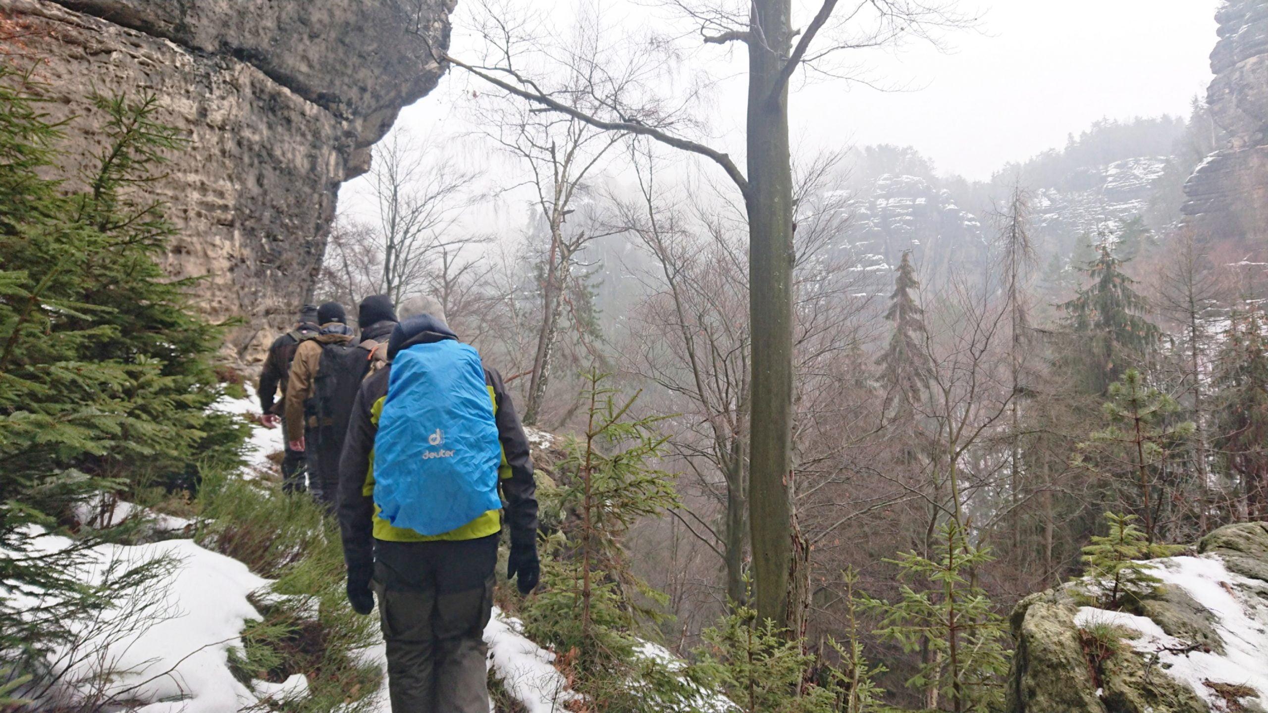 Elbsandsteingebirge#Wintertouren